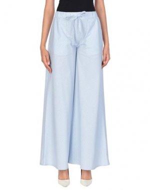 Повседневные брюки ANDREA TURCHI. Цвет: небесно-голубой