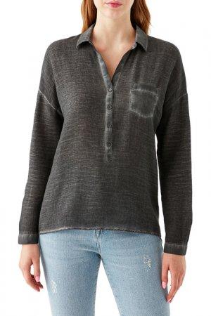 Блузка Pocket Blouse Mavi. Цвет: серый