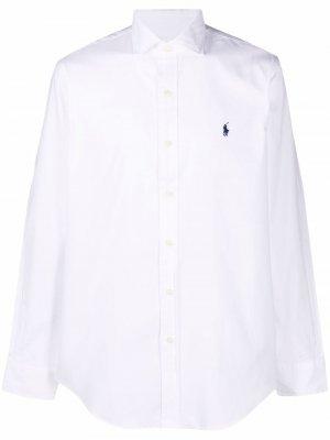 Рубашка с длинными рукавами Polo Ralph Lauren. Цвет: белый