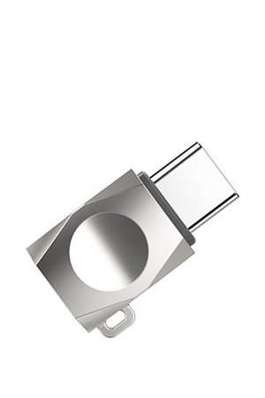 Адаптер MicroUSB to Type-C OTG Hoco. Цвет: серый