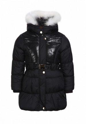 Куртка утепленная Born. Цвет: черный