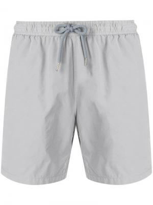 Плавательные шорты с эластичным поясом Aspesi. Цвет: серый