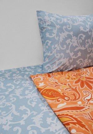 Постельное белье 2-спальное Dream Time. Цвет: голубой
