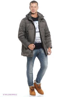 Куртка EVOLUTION. Цвет: серый