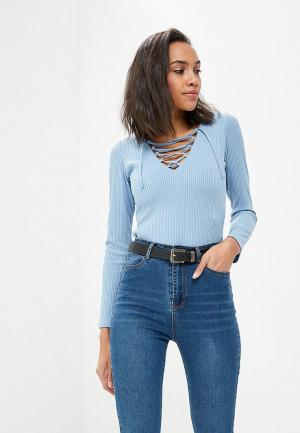 Пуловер FreeSpirit Celine. Цвет: голубой