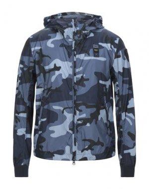 Куртка BLAUER. Цвет: грифельно-синий