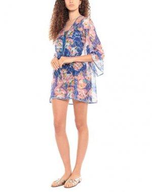 Пляжное платье MISSONI MARE. Цвет: ярко-синий