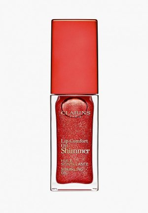 Масло для губ Clarins Lip Comfort Oil Shimmer 07, 7 мл. Цвет: розовый