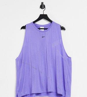 Фиолетовая майка Training Plus-Сиреневый Reebok
