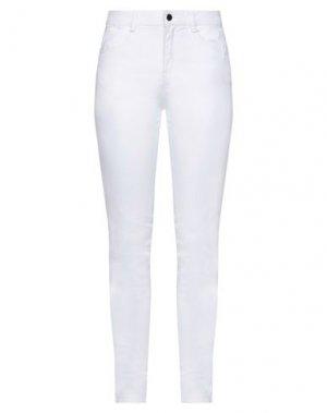 Джинсовые брюки FULL CIRCLE. Цвет: белый