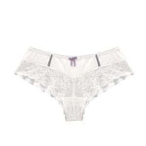 Трусы-шорты для периода беременности Lisa CACHE COEUR. Цвет: белый,черный