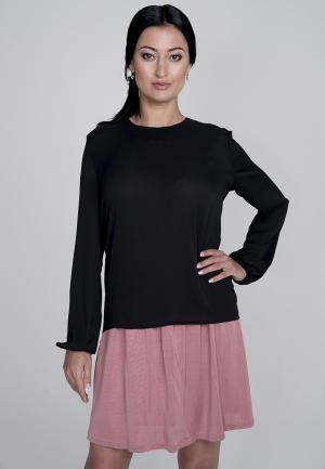 Блуза Лярго. Цвет: черный