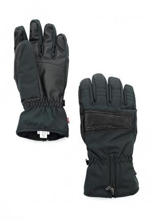 Перчатки горнолыжные Ziener GOMULO PR. Цвет: черный