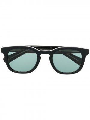 Солнцезащитные очки Kinney в квадратной оправе Garrett Leight. Цвет: черный