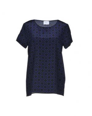 Блузка VIOLET ATOS LOMBARDINI. Цвет: синий