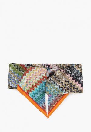 Повязка Missoni 8х85 см. Цвет: разноцветный