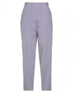 Повседневные брюки HACHE. Цвет: сиреневый