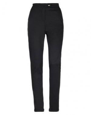 Повседневные брюки ANNARITA N TWENTY 4H. Цвет: черный