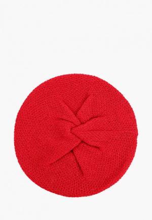 Берет United Colors of Benetton. Цвет: красный