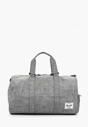 Сумка спортивная Herschel Supply Co NOVEL. Цвет: серый