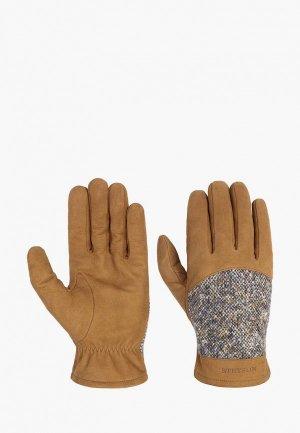 Перчатки Stetson. Цвет: коричневый