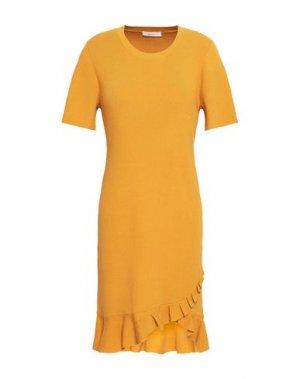 Короткое платье A.L.C.. Цвет: охра