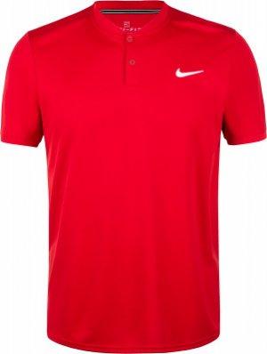 Поло мужское Court Dry, размер 46-48 Nike. Цвет: красный