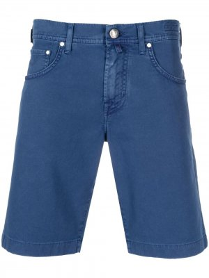 Джинсовые шорты кроя слим Jacob Cohen. Цвет: синий
