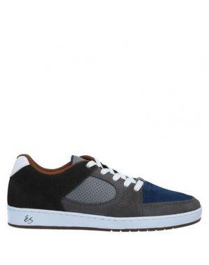 Низкие кеды и кроссовки ÉS. Цвет: грифельно-синий