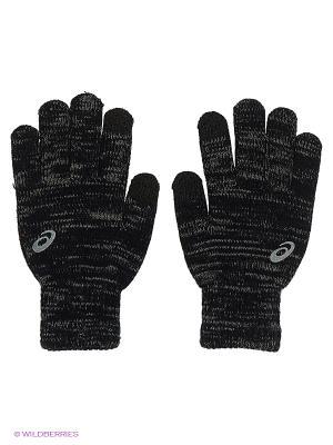 Перчатки Asics Liner Glove. Цвет: черный