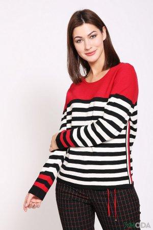 Пуловер Rabe collection. Цвет: разноцветный
