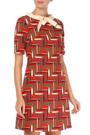 Платье Gucci. Цвет: красный