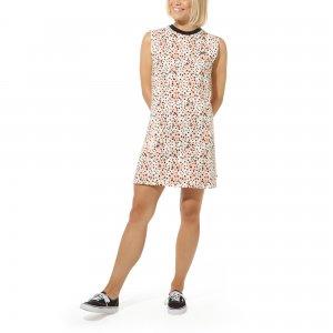 Платье Leila Muscle Tee VANS. Цвет: черный_розовый
