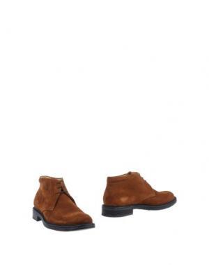 Полусапоги и высокие ботинки BASILE. Цвет: коричневый