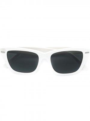 Солнцезащитные очки кошачий глаз Ingrid Acne Studios. Цвет: белый