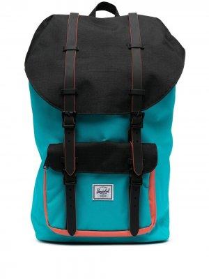Рюкзак с нашивкой-логотипом Herschel Supply Co.. Цвет: синий