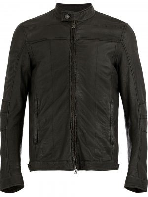 Куртка с потертостями Drome. Цвет: черный