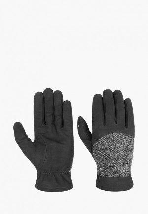 Перчатки Stetson. Цвет: черный