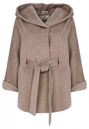 Короткое пальто с капюшоном Electrastyle