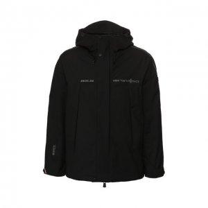 Утепленная куртка Linth Moncler Grenoble. Цвет: чёрный