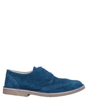 Обувь на шнурках ANGELO NARDELLI. Цвет: пастельно-синий