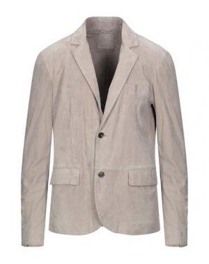 Пиджак DESA NINETEENSEVENTYTWO. Цвет: светло-серый