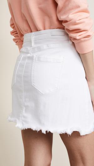 Denim Miniskirt Blank