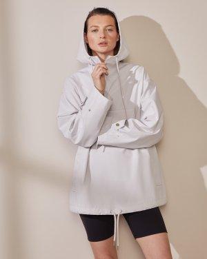 Куртка-анорак 12STOREEZ. Цвет: светло-серый