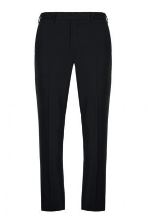 Шерстяной костюм Prada. Цвет: черный
