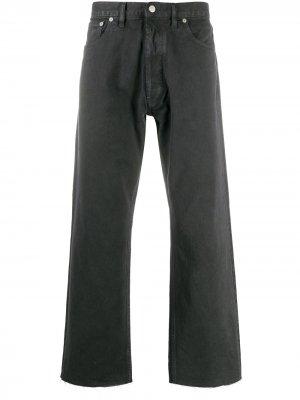 Прямые джинсы Maison Margiela. Цвет: серый