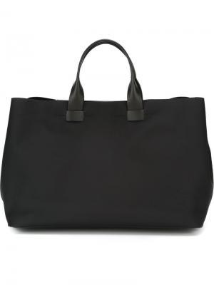 Большая сумка Troubadour. Цвет: черный