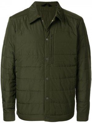 Куртка-рубашка J.Lindeberg. Цвет: зеленый