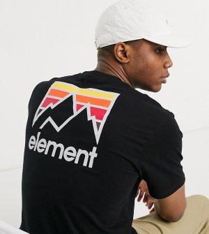 Черная футболка эксклюзивно на ASOS-Черный Element