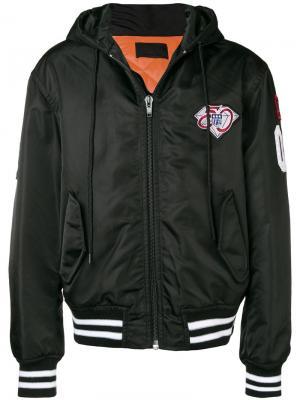 Куртка-бомбер с заплатками Alexander Wang